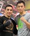 Небитый казахстанец с пятью боями в США провел спарринг с чемпионом мира по версии WBC