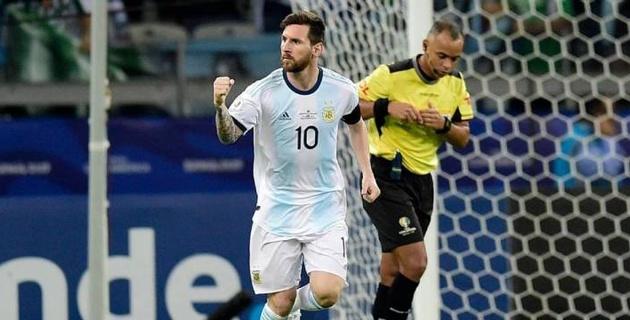 Месси забил первый гол на Кубке Америки-2019 и спас Аргентину от поражения