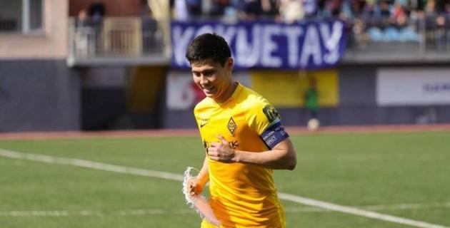 Великолепный гол капитана сборной Казахстана был признан лучшим в 14-м туре КПЛ