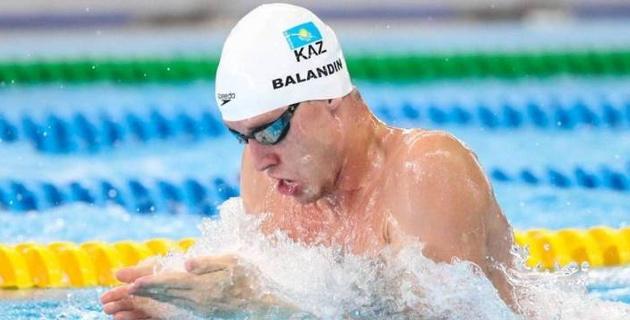 Казахстанские пловцы Баландин и Мусин стали вторыми на международном турнире в США