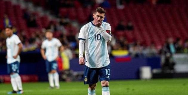Месси признали проблемой для сборной Аргентины