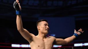 """Корейский зомби"" из UFC нокаутировал соперника за 58 секунд"