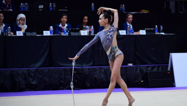 Казахстанская гимнастка завоевала свою пятую медаль на чемпионате Азии-2019