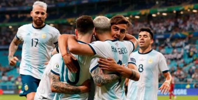 Сборная Аргентины победила в день рождения Месси и вышла в четвертьфинал Кубка Америки