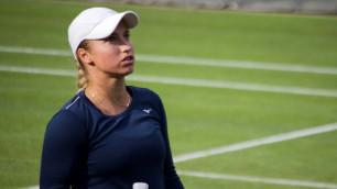 Четвертая ракетка мира за десять дней обыграла двух теннисисток из Казахстана