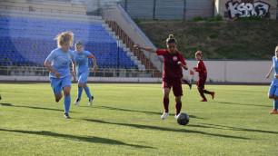 Видео победного гола, или как футболистка сборной Казахстана забила за шестикратных чемпионов России