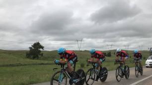 В Акмолинской области завершился второй день Спартакиады по велоспорту на шоссе