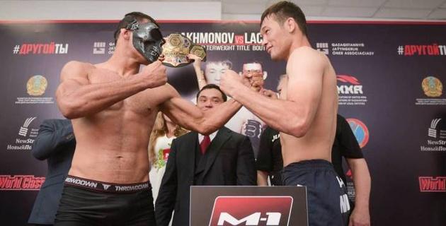 Прямая трансляция турнира M-1 Challenge 102 с титульными боями казахстанских бойцов Рахмонова и Морозова