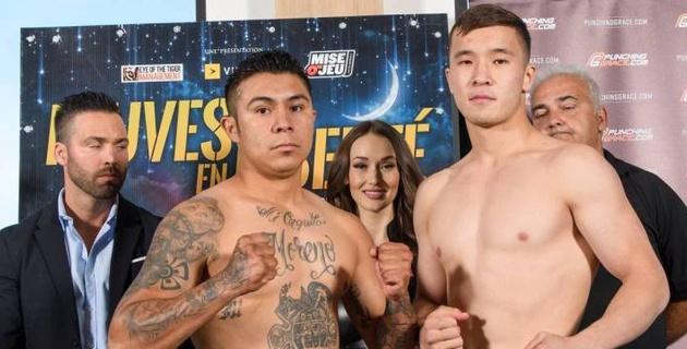 Чемпион Азии из Казахстана свел вничью дебютный бой в профи против мексиканца