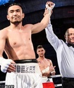 Непобежденный казахстанский боксер выиграл десятый бой в профи
