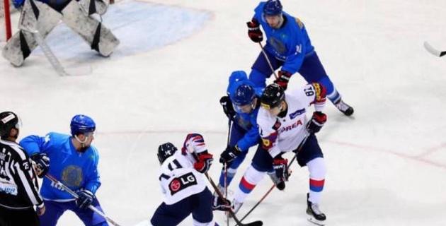 Сборная Казахстана по хоккею проиграла Южной Корее во втором товарищеском матче