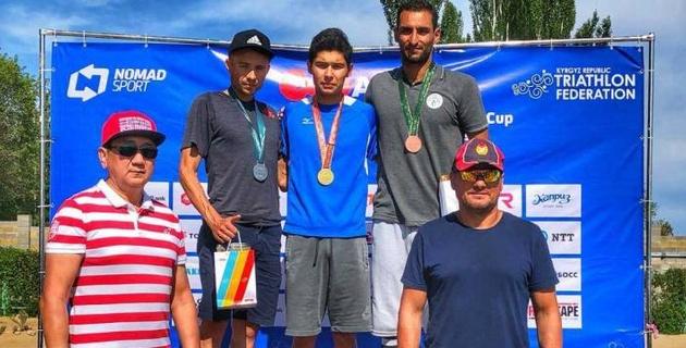 Триатлонисты из Алматы успешно выступили на чемпионате Центральной Азии