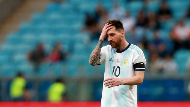 Месси пожаловался на судей после поражения от Бразилии и отказался уходить из сборной Аргентины