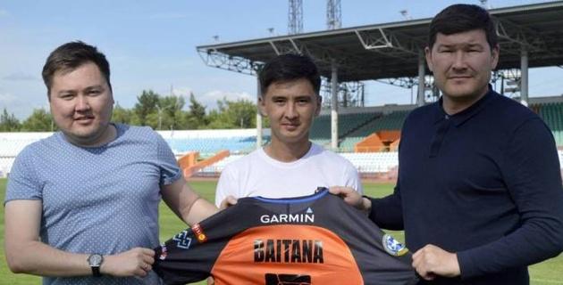 Экс-футболист сборной Казахстана нашел новый клуб