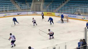 Сборная Казахстана по хоккею забросила семь шайб и взяла реванш у Южной Кореи