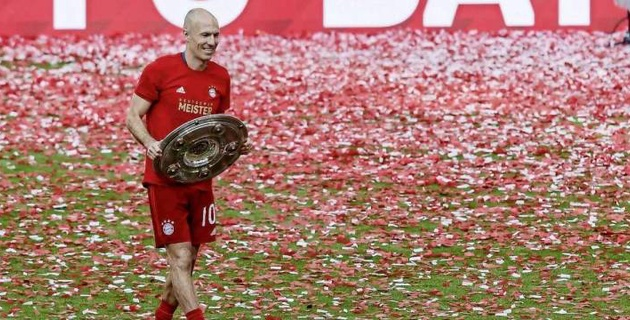Роббен завершил карьеру футболиста