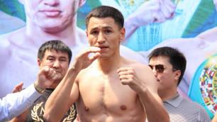 Тураров оказался чуть тяжелее соперника перед боем за пояс от WBO