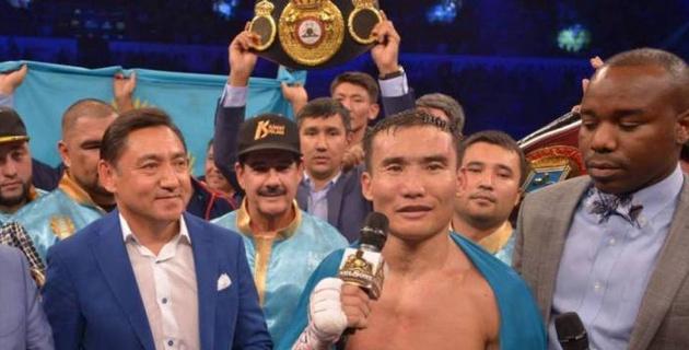 Канат Ислам на 10-й секунде отправил соперника в глубокий нокаут и завоевал титул от WBO в весе Головкина