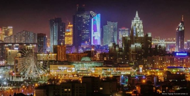 """Спортсмены ППСК """"Астана"""" поздравили казахстанцев с Днем столицы"""