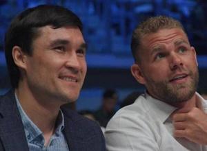 Билли Джо Сондерс приехал в Казахстан