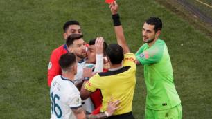 Месси не вышел на церемонию награждения сборной Аргентины на Кубке Америки по футболу