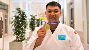 """Первое """"золото"""" на Универсиаде-2019 позволило Казахстану подняться на 13-е место в медальном зачете"""