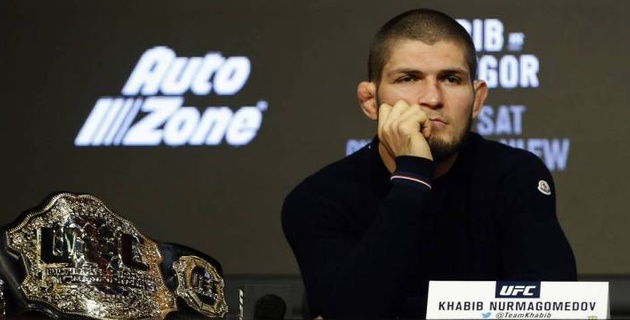 Хабиб Нурмагомедов и Нейт Диас чуть не подрались на UFC 239