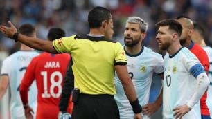 Судья матча Аргентина - Чили объяснил, почему удалил Месси