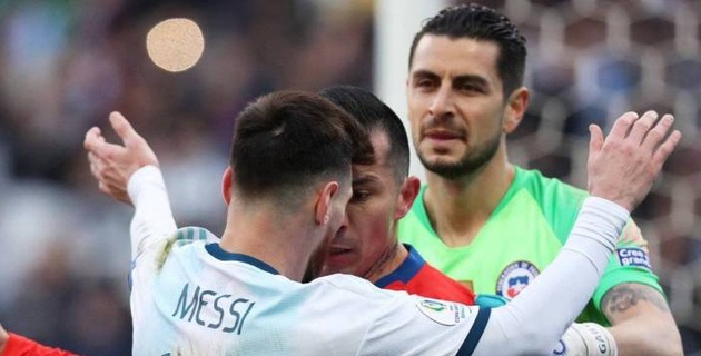 Месси могут отстранить от игр за сборную Аргентины на два года