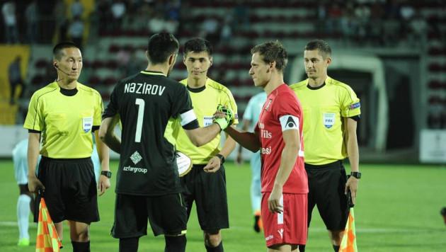 Казахстанская бригада арбитров обслужит матч Лиги Европы