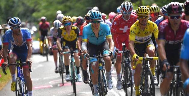"""Капитан """"Астаны"""" сохранил свою позицию в общем зачете после седьмого этапа """"Тур де Франс"""""""