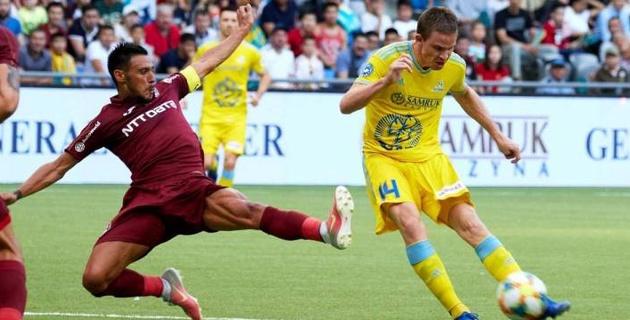Ответные матчи казахстанских клубов в еврокубках покажут в прямом эфире