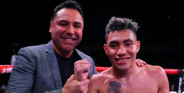 Небитый мексиканец с 28 победами сенсационно проиграл нокаутом в первом раунде в одном вечере с казахстанцем Мадиевым