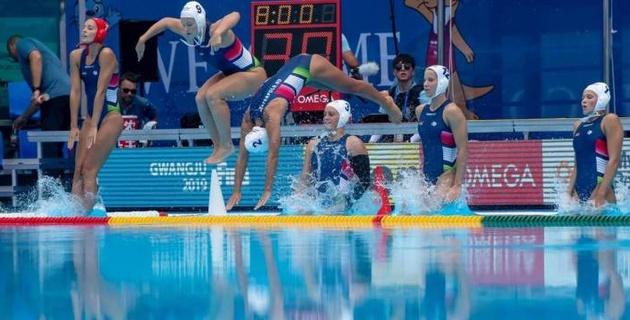 На чемпионате мира по водному поло с участием Казахстана установлен рекорд
