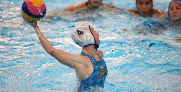 Женская сборная Казахстана по водному поло стартовала с победы на чемпионате мира