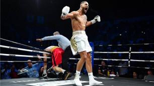 Олимпийский чемпион по боксу вернулся после дисквалификации за допинг и победил нокаутом