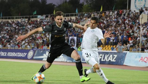 """Видео голов, или как """"Ордабасы"""" одержал вторую победу в Лиге Европы"""