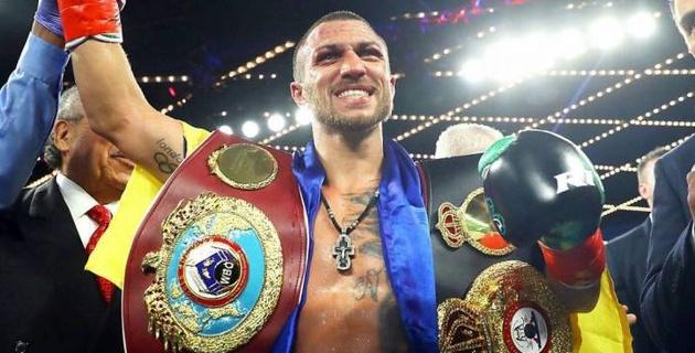 Официально объявлен бой Ломаченко за четыре титула