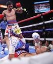 Пакьяо в бою с нокдауном отобрал у Турмана титул WBA