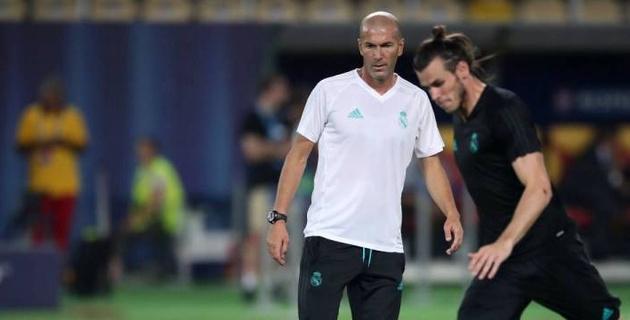 """Зидан объявил о решении """"Реала"""" продать Бэйла"""