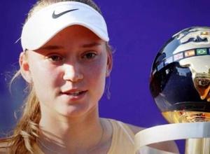 Казахстанская теннисистка Рыбакина взлетела в рейтинге после первого титула WTA в карьере
