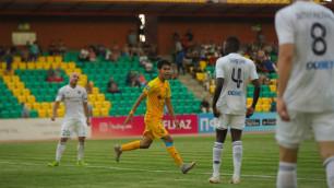 """Сейдахмет оценил первый гол за """"Кайрат"""" и назвал переломный момент камбэка с """"Тоболом"""""""