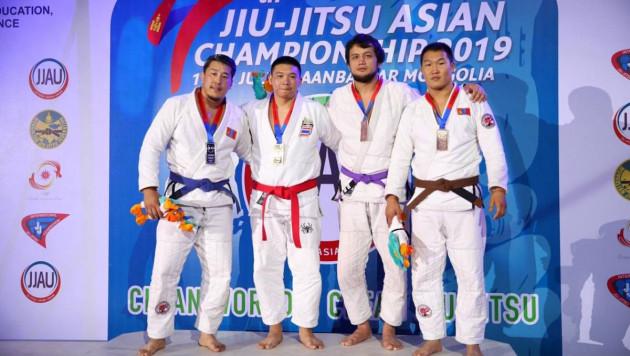 Казахстан стал вторым в Азии по джиу-джитсу