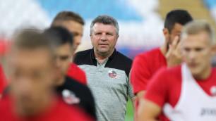 Клуб казахстанского тренера победил со счетом 5:0 в первом матче Лиги Европы