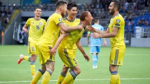 Сборная Казахстана по футболу поднялась в рейтинге ФИФА