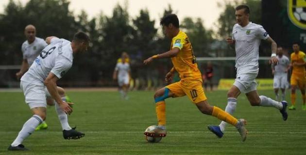 Дебютный гол Еркебулана Сейдахмета признан самым красивым в 19-м туре КПЛ