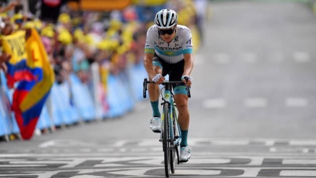 """Луценко поднялся на пять позиций в общем зачете """"Тур де Франс"""" после остановленного этапа"""