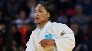 Казахстанская дзюдоистка назвала причины своей победы на Гран-при в Загребе
