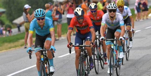 """Луценко потерял две позиции перед """"этапом дружбы"""" на """"Тур де Франс"""""""