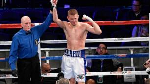 Видео нокаута, или как экс-партнер Головкина из зала Санчеса выиграл досрочно 15-й бой кряду